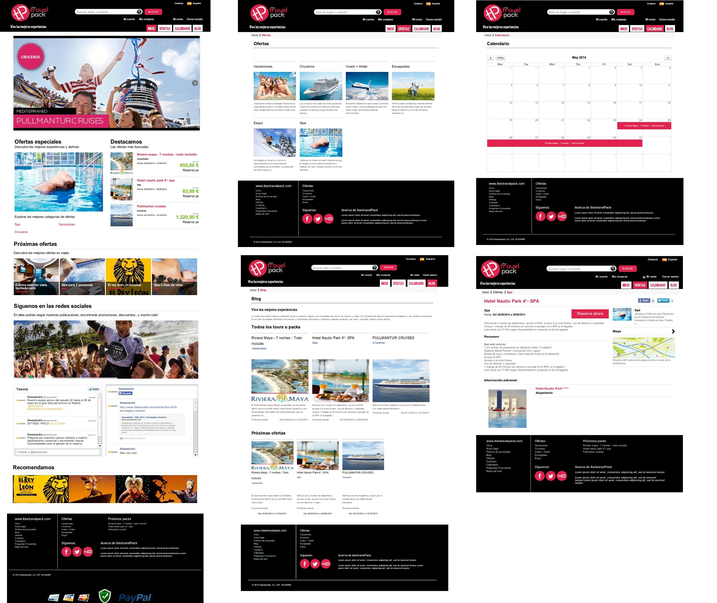 Ibextravelpack :: Página web